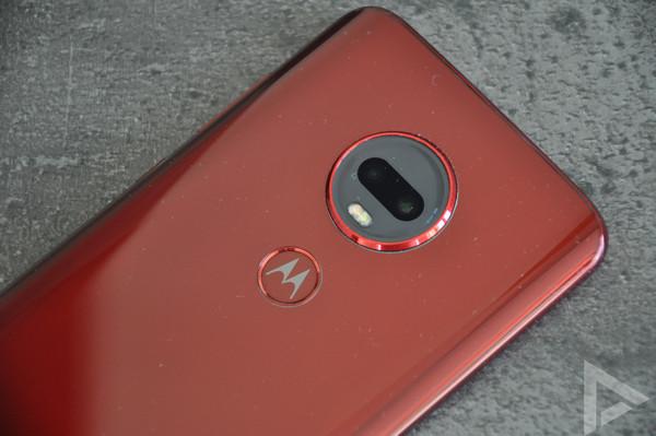 Moto G7 Plus vingerafdrukscanner
