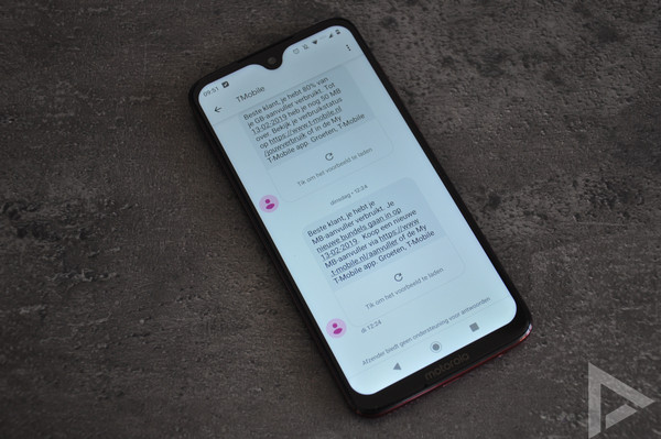 Moto G7 Plus SMS