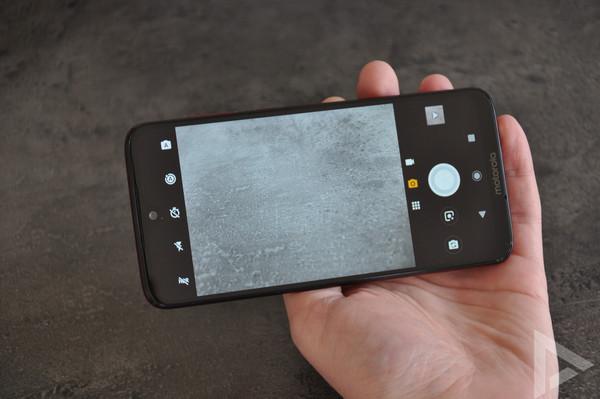 Moto G7 Plus camera-app