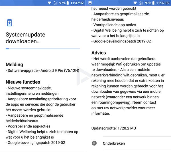 Nokia 6 Android 9 Pie