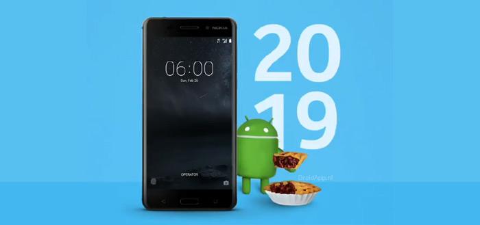 Nokia 6 (2017) ontvangt Android 9 Pie met patch van februari