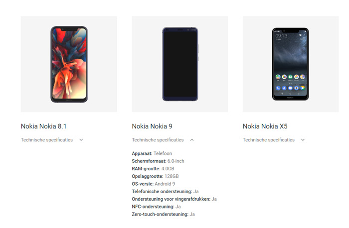 Nokia 9 Google Enterprise