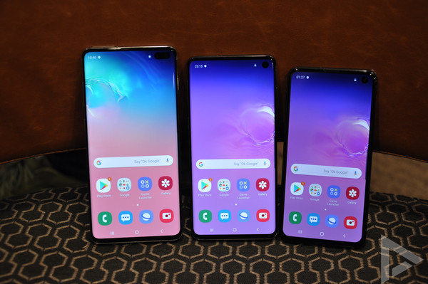 Samsung Galaxy S10 serie