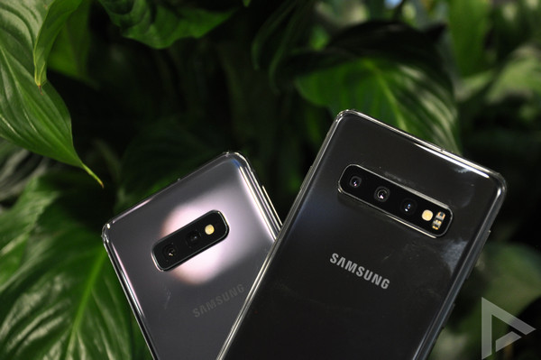 Samsung Galaxy S10 camera's