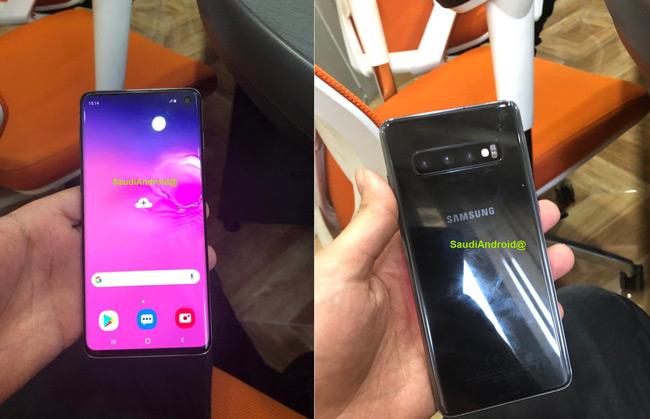 Samsung Galaxy S10 live