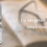 De vergeten telefoon: Sony Ericsson W300i