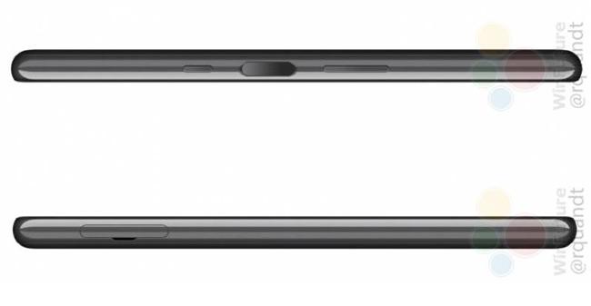 Sony Xperia L3 zijkant