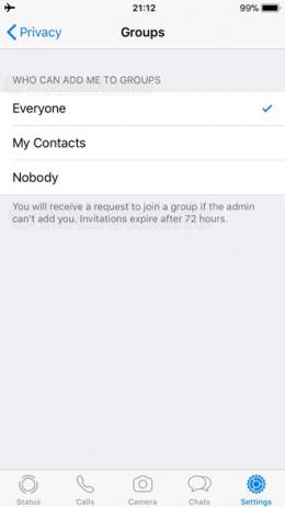 WhatsApp groep uitnodiging
