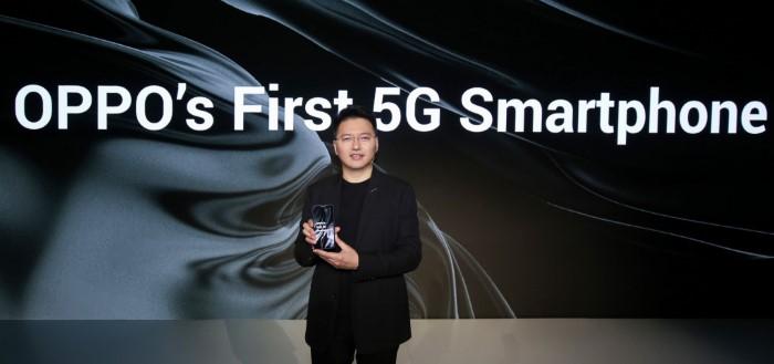 Oppo toont haar eerste 5G smartphone en 10x optische zoom aan de wereld