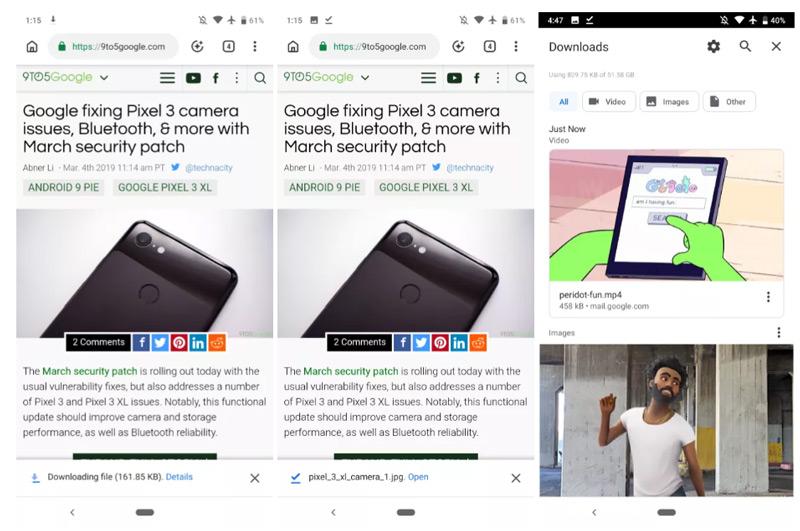 Chrome 73 downloads