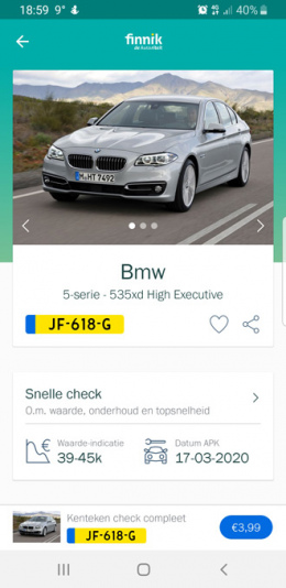 Finnik kenteken-app