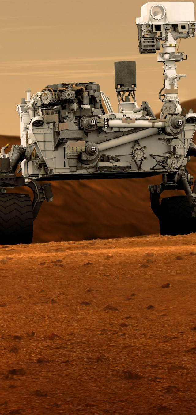 Galaxy S10 wallpaper mars rover