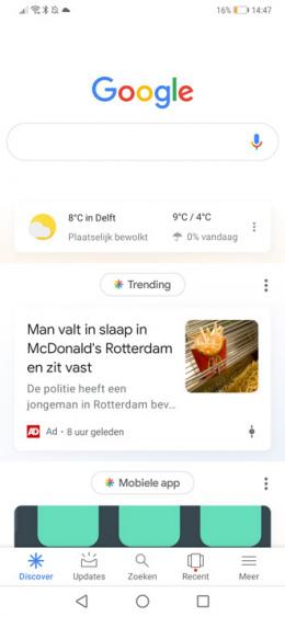 Google notificaties