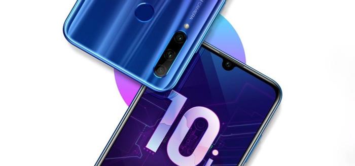 Honor 10i aangekondigd: een verbetering op de 10 Lite