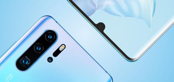 Huawei P30-serie erg geliefd: nu al 5 miljoen exemplaren verkocht