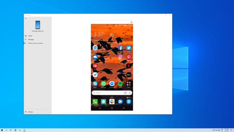 Microsoft Android Mirroring