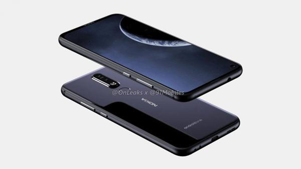 Nokia 6.2 renders