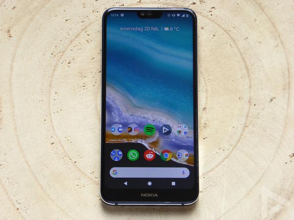 Nokia 7.1 test
