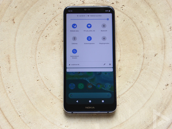 Nokia 7.1 notificaties