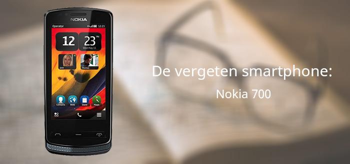 De vergeten smartphone: Nokia 700