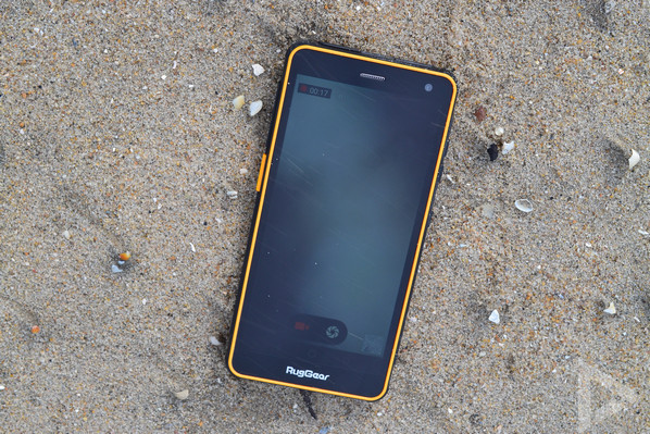 Ruggear RG650 camera-app