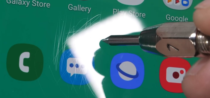 Samsung Galaxy S10 duurzaamheidstest: hoe kwetsbaar is het toestel?