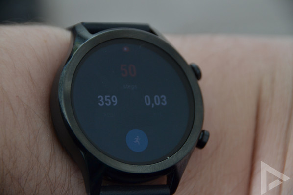 TicWatch C2 google fit