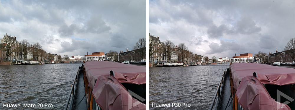 Cameravergelijking Huawei P30 pro Mate 20 Pro