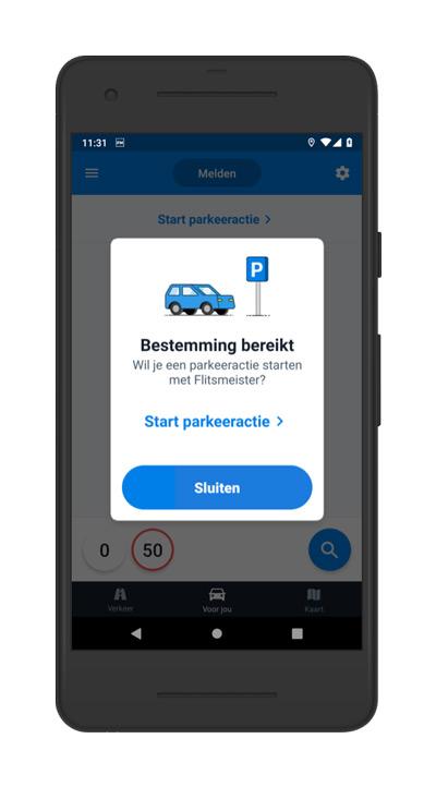 Flitsmeister parkeren 1