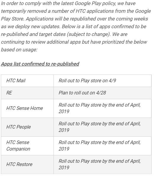 HTC apps verwijderen