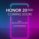 Honor 20-serie wordt op 21 mei aangekondigd in Londen