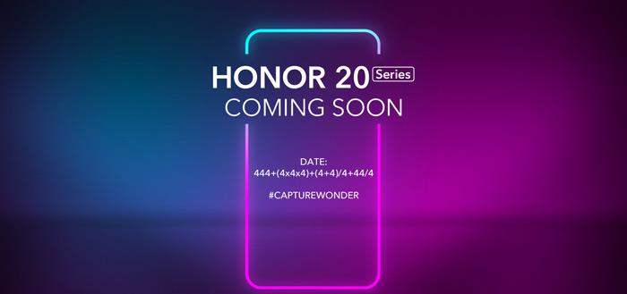 Honor 20 livestream: volg de aankondiging hier