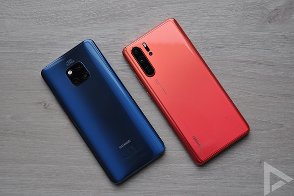 Huawei Mate 20 Pro - P30 Pro achterkant