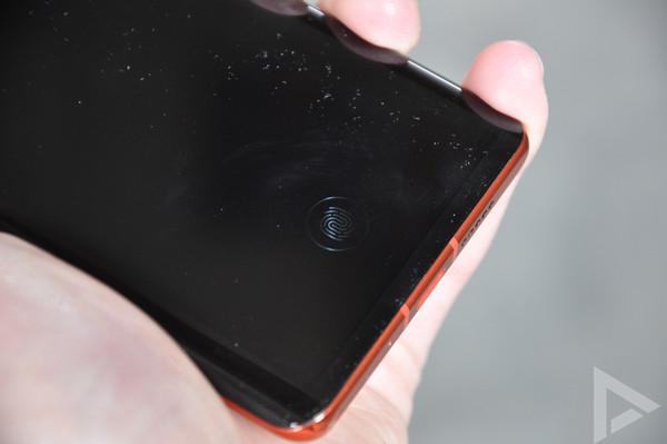Huawei P30 Pro vingerafdrukscanner