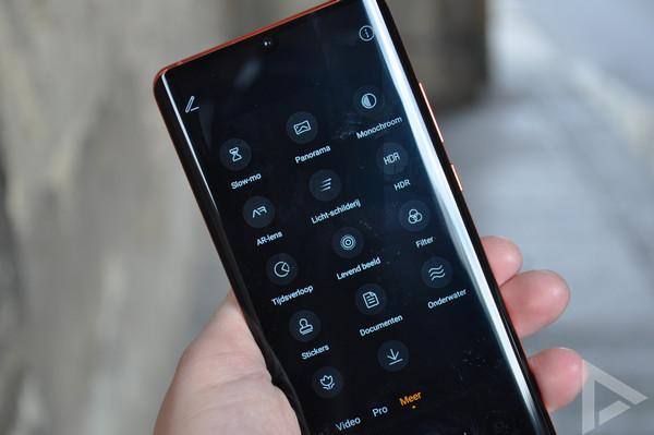 Huawei P30 Pro camera-modus