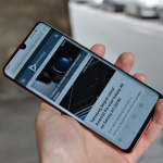 Huawei P30 Pro browser
