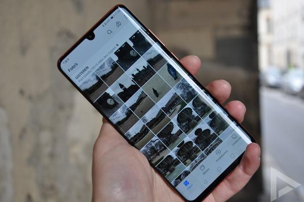 Huawei P30 Pro galerij