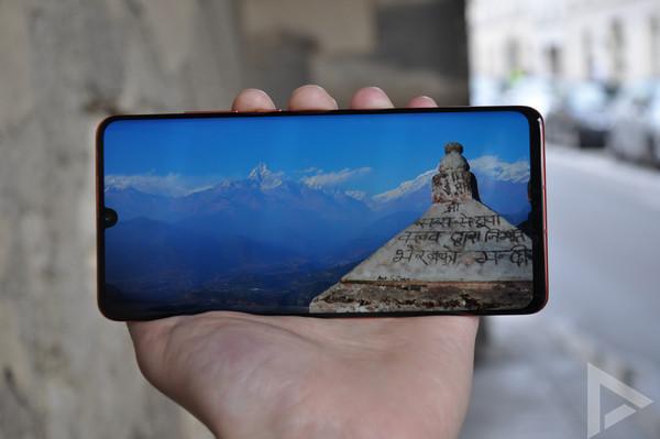 Huawei P30 Pro display