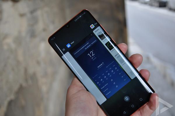 Huawei P30 Pro multitasking