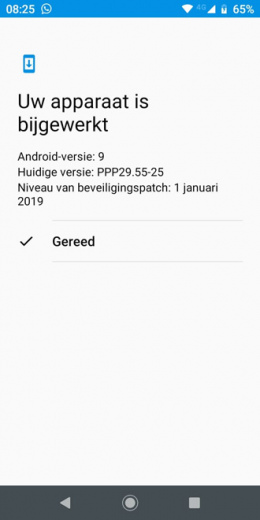 Moto G6 Play Android 9 Pie