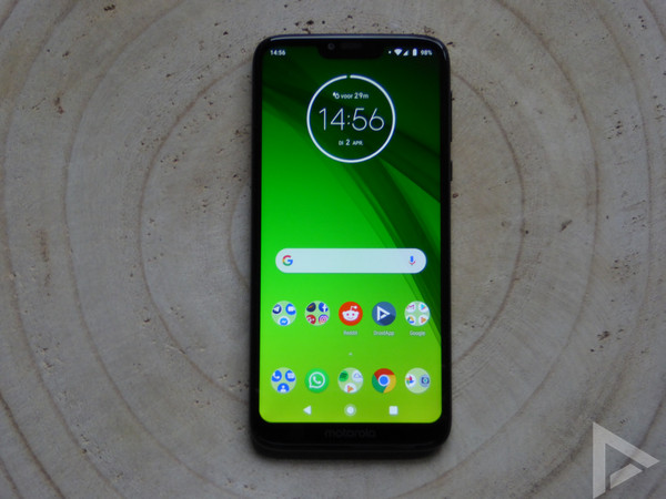 Moto G7 Power design