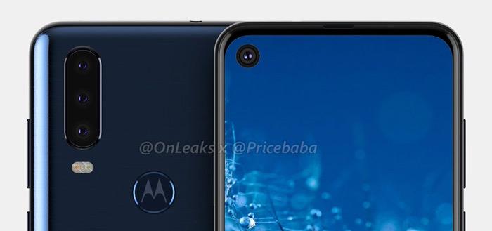 Renders tonen nieuwe Motorola; is dit de Moto G8?