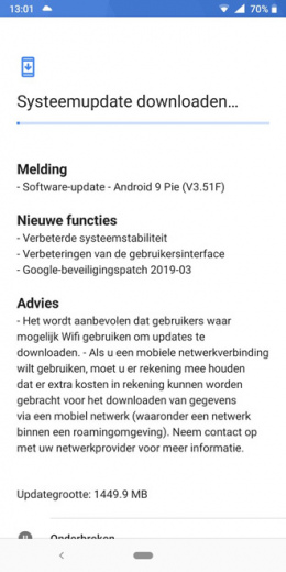 Nokia 7 Plus patch maart