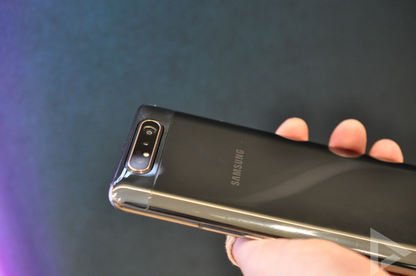 Samsung Galaxy A80 design