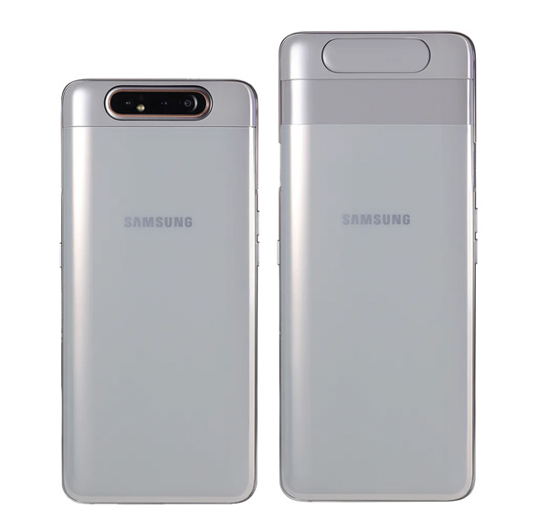 Samsung Galaxy A80 camera-slider