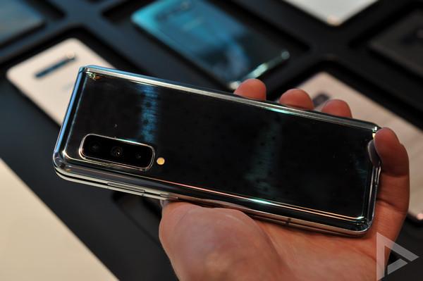 Samsung Galaxy Fold glas