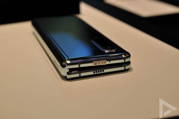 Samsung Galaxy Fold speaker