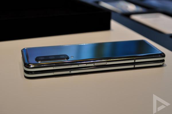 Samsung Galaxy Fold vingerafdrukscanner