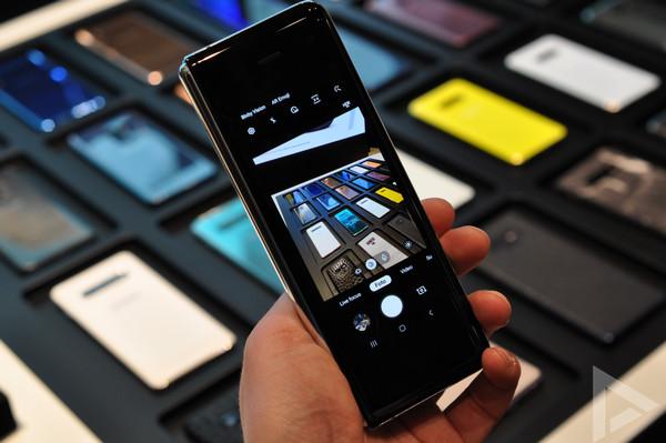 Samsung Galaxy Fold camera