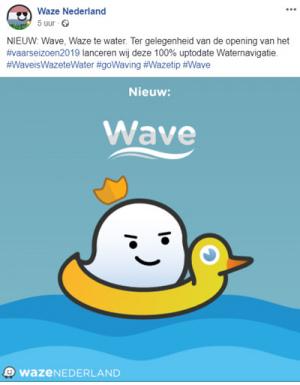Waze Water